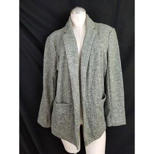 LC Lauren Conrad Size XL Green Open Blazer